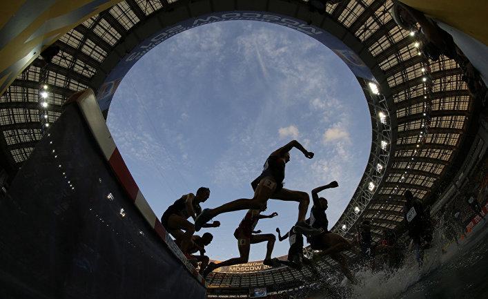 Финал чемпионата мира по легкой атлетике в Лужниках в Москве