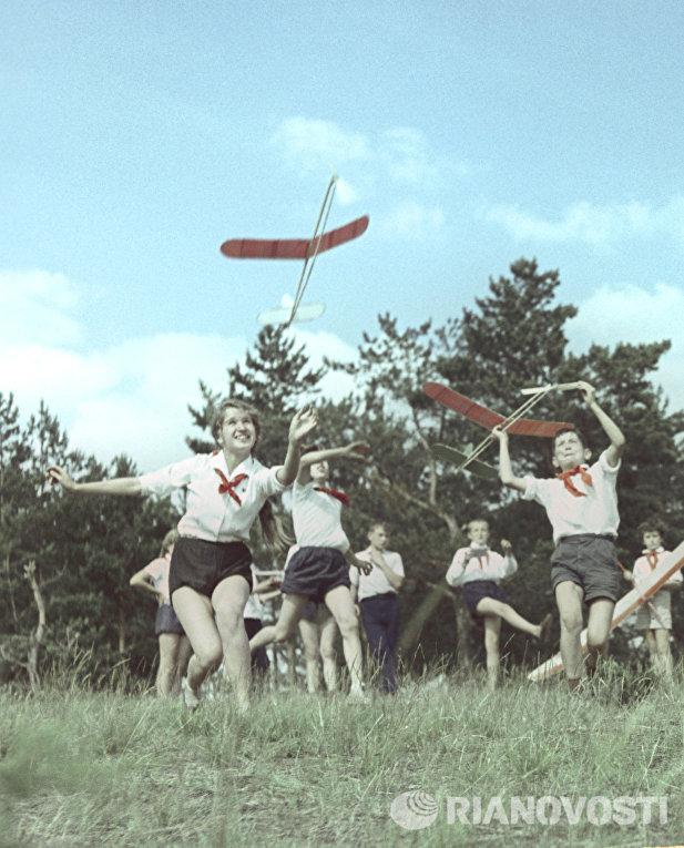 Летний отдых школьников