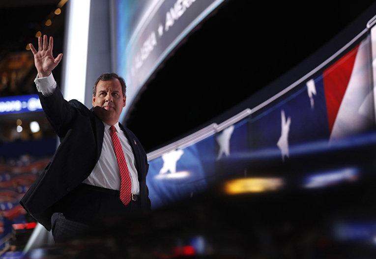 Бывший кандидат в президенты США от Республиканской партии и губернатор Нью-Джерси Крис Кристи