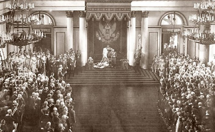Торжественное открытие Государственной думы и Государственного совета