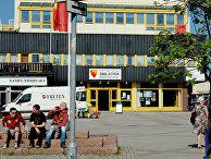 Город Киркенес в Северной Норвегии, недалеко от российской границы