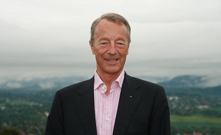 Член Международного олимпийского комитета Герхард Хейберг