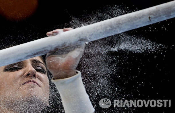 Спортсменка Алия Мустафина