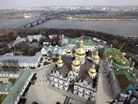 Вид на Киево-Печерскую лавру и Днепр