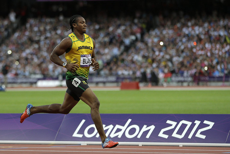 Ямайский спортсмен Йохан Блейк