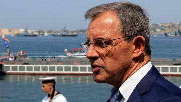 Глава делегации французских парламентариев Тьерри Мариани в Севастополе