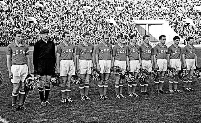 Сборная команда СССР по футболу 1960 года