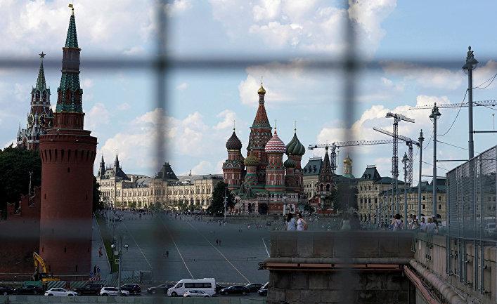 Московский Кремль и храм Василия Блаженного