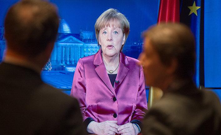 Новогоднее обращение канцлера ФРГ Ангелы Меркель