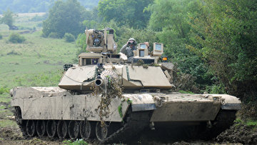 Американский солдат на военных учениях в Румынии
