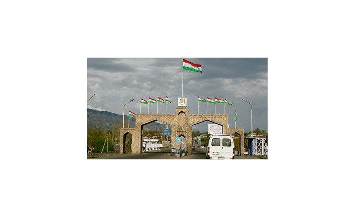 Въезд в город Душанбе