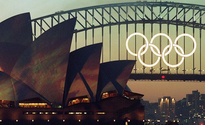 Церемония открытия Олимпийских игр в Сиднее в 2000 году