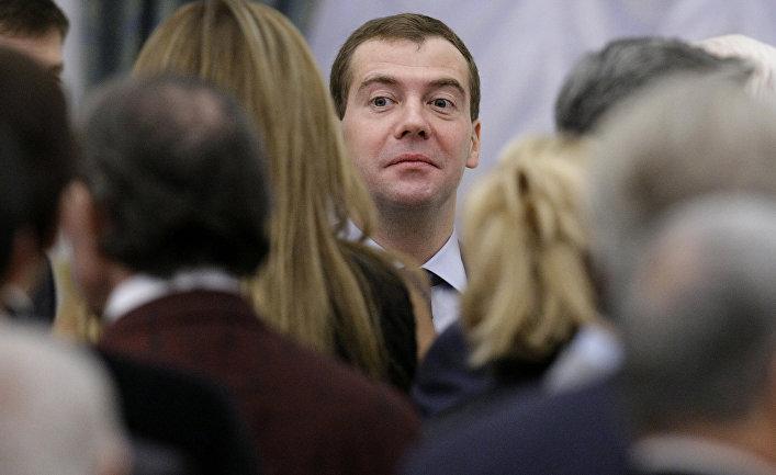 Дмитрий Медведев в Кремле