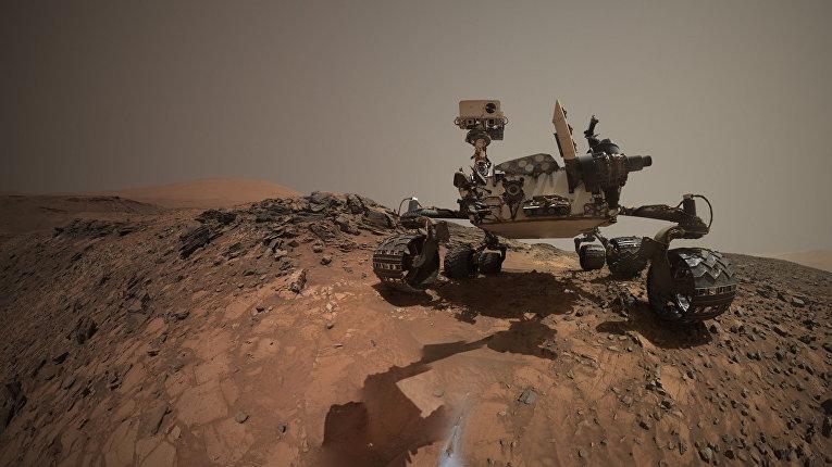 "Очередное ""селфи"" марсохода Curiosity"