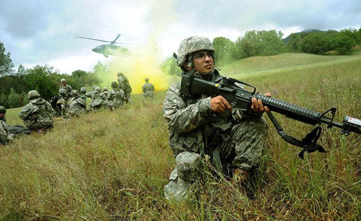 Солдаты принимают участие в учениях Global Medic 2011 и Warrior 91-11-01