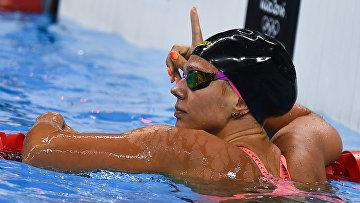 Юлия Ефимова на XXXI летних Олимпийских играх в Рио-де-Жанейро