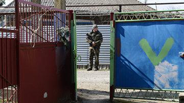 Военнослужащий самопровозглашенной Донецкой Народной Республики
