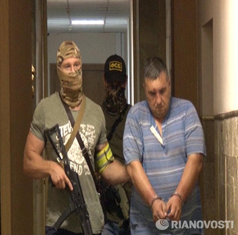 Задержанный сотрудниками ФСБ России в Крыму украинский диверсант