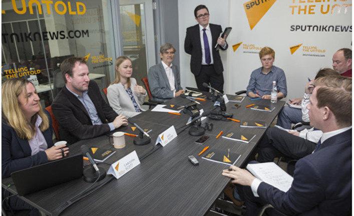 Команда Sputnik в Эдинбурге