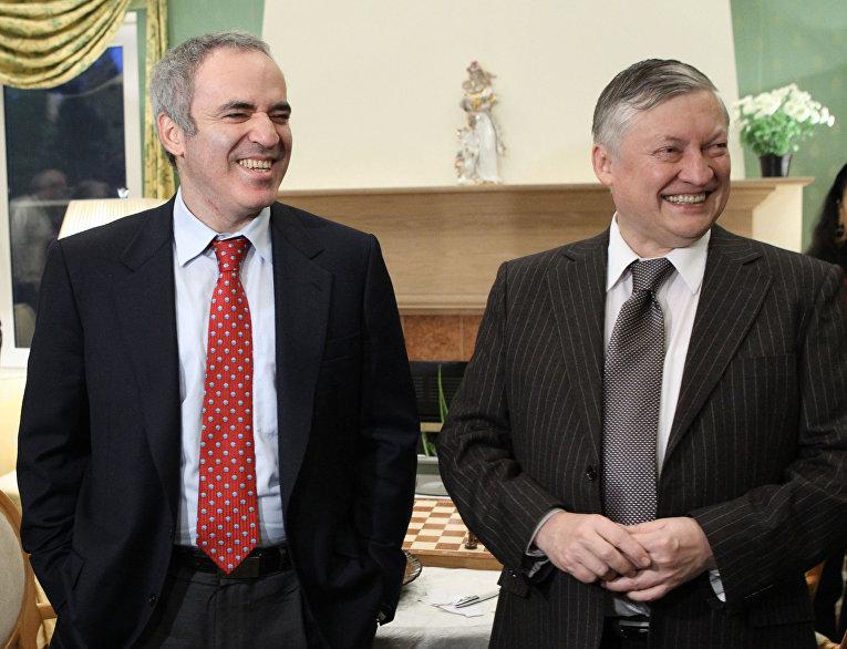 Гарри Каспаров, Анатолий Карпов