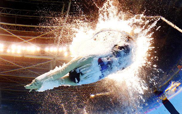 Американская пловчиха Кэти Ледеки