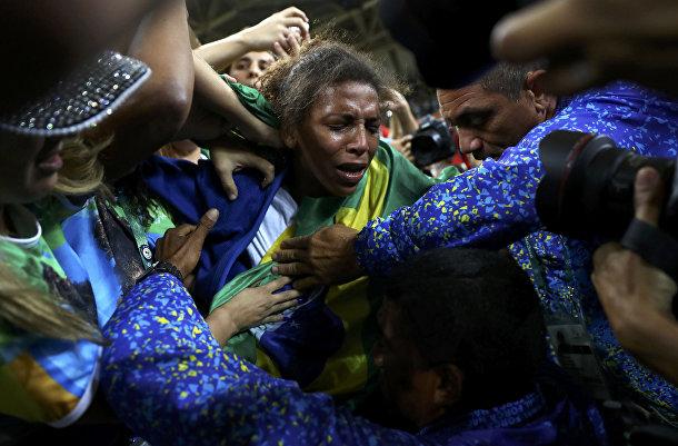 Бразильская спортсменка Рафаэла Силва