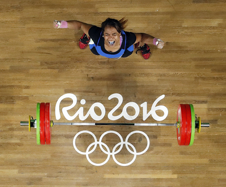 Спортсменка из Колумбии Лейд Есенья Солис Арболеда