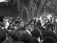 Антиизраильский митинг в Египте