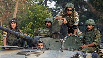 Военные в Грузии