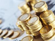 Монеты евро, архивное фото