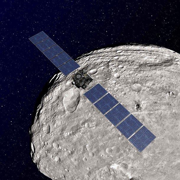 Автоматическая межпланетная станция Dawn приближается к астероиду Веста