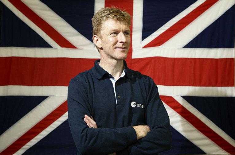 Британский астронавт Тим Пик