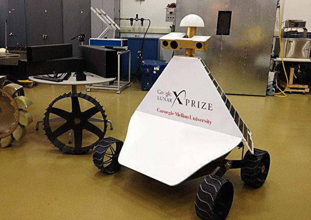 Луноход, участвующий в конкурсе Google Lunar X-Prize