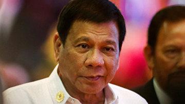 Президент Филиппин Родриго Дутерте на церемонии открытия саммита АСЕАН во Вьентьяне