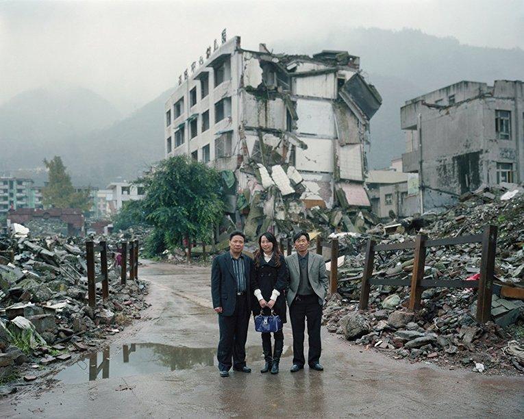 Места Сычуаньского землетрясения