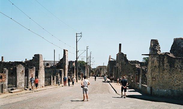 Поселок Орадур-сюр-Глан, уничтоженный немецкими солдатами в 1944 году