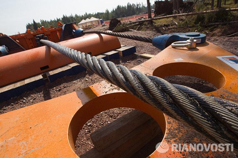 Строительная площадка газопровода «Северный поток»