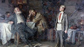 Репродукция картины «Павлик Морозов»
