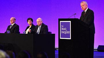 Джон Чилкот представляет доклад о расследовании в Ираке. Лондон, 6 июля 2016