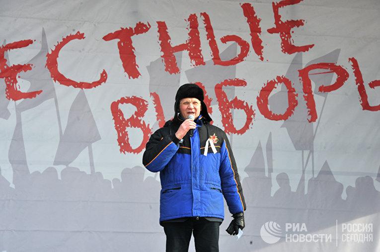 Сопредседатель незарегистрированной Партии народной свободы (ПАРНАС) Владимир Рыжков