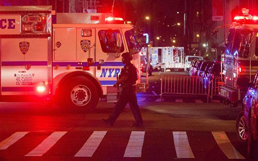 Взрыв в Нью-Йорке: десятки раненых