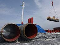 Cтроительство газопровода «Северный поток» (Nord Stream)