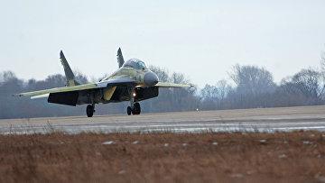 Двухместный корабельный истребитель МиГ-29КУБ