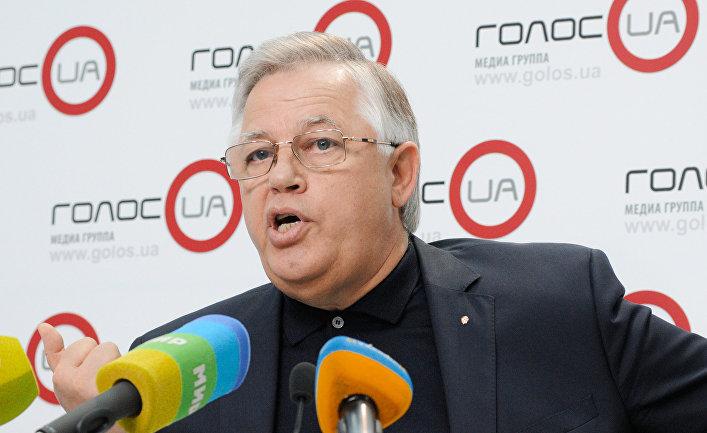 Пресс-конференция лидера Компартии Украины Петра Симоненко