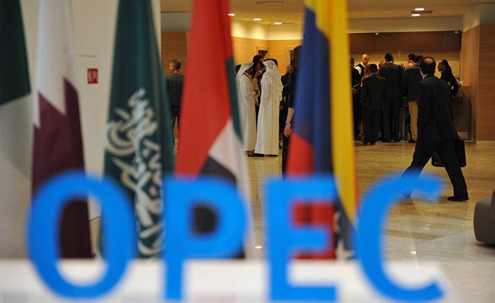 Участники неформальной встречи членов ОПЕК в Алжире