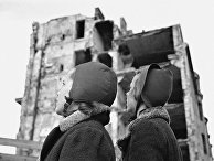 Дети, вернувшиеся в Хельсинки после эвакуации во время советско-финской войны