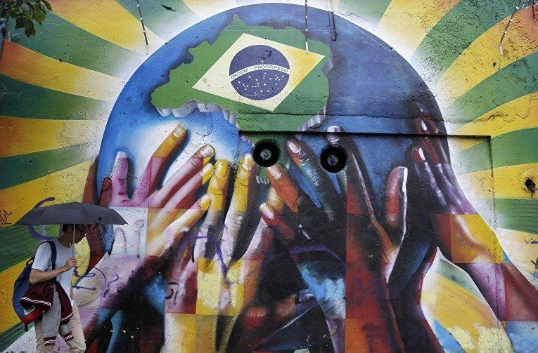Граффити в Сан-Паулу
