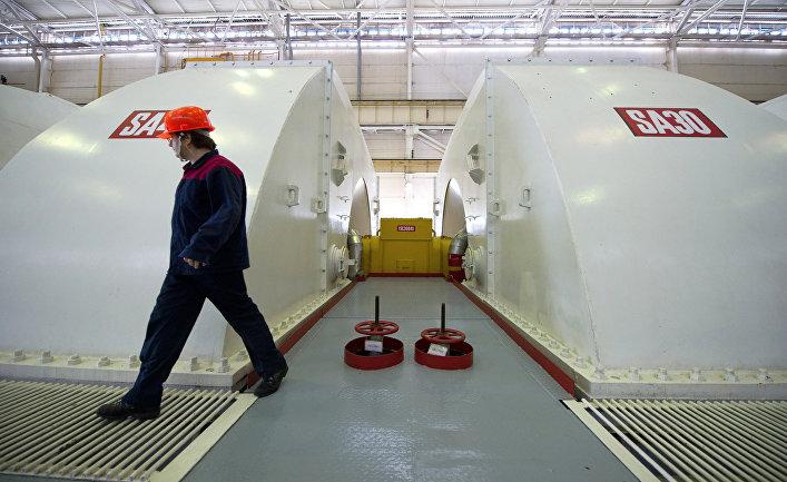 Работа Ростовской атомной электростанции