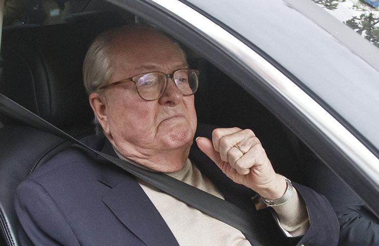 Основатель партии «Национальный фронт» Жан-Мари Ле Пен
