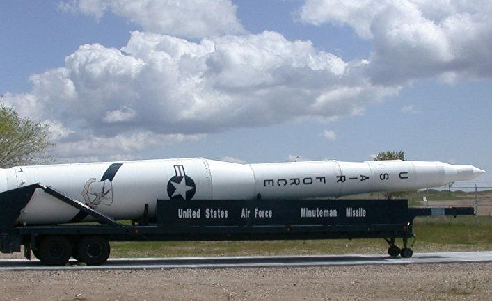 МБР Minuteman, аэрокосмический музей, военно-воздушная база Хилл, США